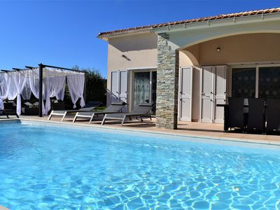 Photo for Villa Katia heated swimming pool, stay only from Sunday to Sunday