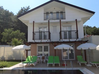 Photo for 4 bedroom Villa in Oludeniz with private swimming pool BRL 412
