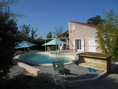 Photo for Large furnished villa in Provence with private pool
