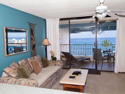 Photo for Oceanview 1BR- Top Floor Elevator access - see video tour -WiFi and free calling