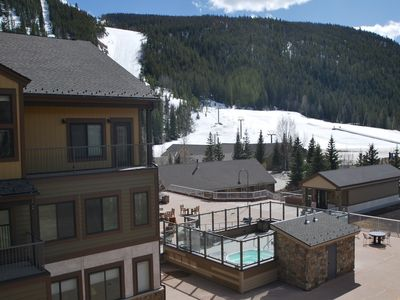 Photo for Ski In-Ski Out, Escape the Heat in Summer & Fall, Huge Views, Deck, Garage!