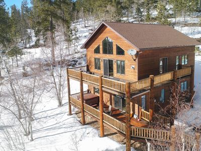 Photo for Spectacular Mountain Views for your Private 3BR Getaway on Terry Peak!