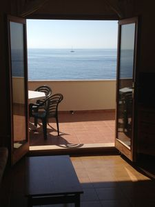 Photo for Beautiful apartment with privileged sea views