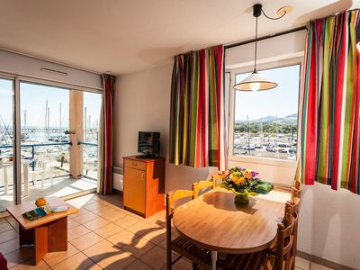 Photo for Residence Sea and Golf Port Argelès *** - 3 Rooms 6 People - Mountain side