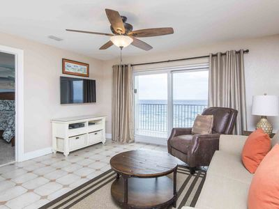 Photo for Lovely Gulf Front Condo Overlooking the Beach ~ Private Balcony and Close to Dow