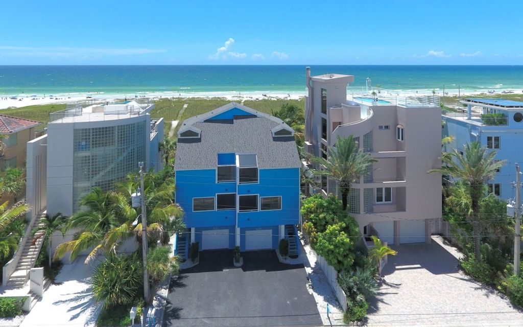 Vacation Property With Siesta Key Beach In Your Back Yard