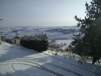 Photo for Farmhouse with breathtaking views - WiFi and AC