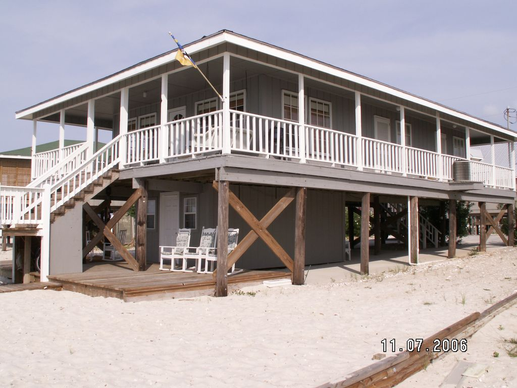 Dauphin Home lil house on dauphin island waterfront island home with