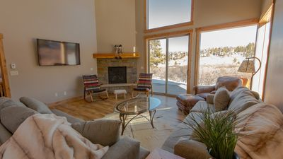 Photo for NEW LISTING! Newly Constructed Private Home with Mountain Views and Hot Tub.