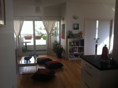 Photo for Magnificent 3 rooms renovated (75m2) - 5 min walk from the beach - 4/6 pers