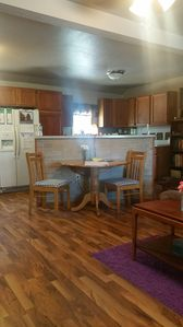 Cozy two bedroom with all the comforts of home just minutes away from the lake.