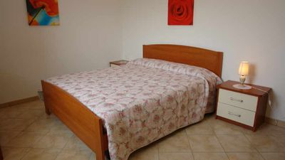 Photo for apartment with garden and terrace with wonderful sea view parking spot,