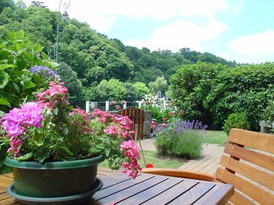 Photo for Charming riverside holiday gite for 2 persons with Free Wifi