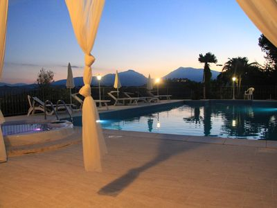 Photo for APARTMENT IN VILLA WITH POOL IN THE SALT, HEATED, SPECTACULAR VIEW !!!
