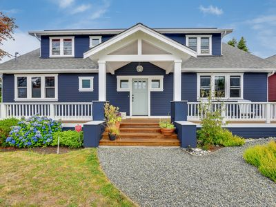 Photo for Beautiful 5 Bedroom Sunset Hill Home with Dazzling Shilshole Bay View From Master Bedroom!