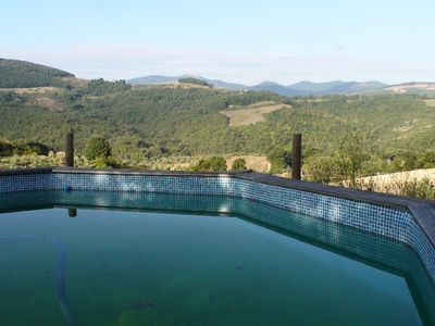 Photo for Luxurious country house with Jacuzzi and stunning views of the Umbrian hills