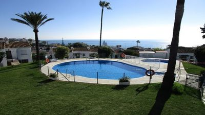 Photo for Corner apartment at the top with sea views and sun all day