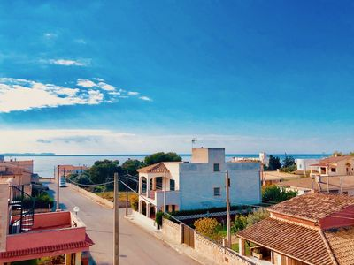 Photo for ***** Fantastic new villa with pool by the sea within walking distance to the sandy beach Es Trenc