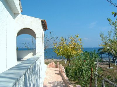 Photo for Sea View Apartments On the Sandy Beach On Corfu Island (2) - Newly refurbished
