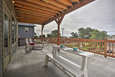 This home includes multiple deck levels for fantastic sunset views.