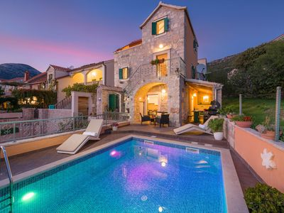 Photo for Villa Brač Stone with Swimming Pool
