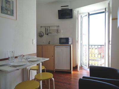 Photo for Alfama - Very bright and welcoming apartment with a beautiful Tagus view.