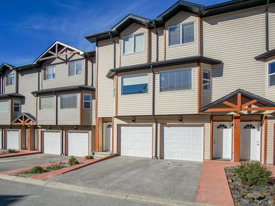 Photo for NEW! Bright 2BR townhouse w/ Rocky Mountain views - between Invermere & Winderme