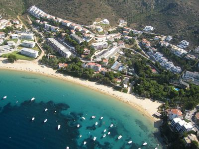 Photo for M22. Apartment direct to the spectacular small beach of Almadraba.