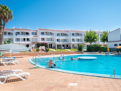 Photo for In a well-kept holiday resort with communal pools - Apartment Cala Piques