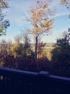 View from top deckl