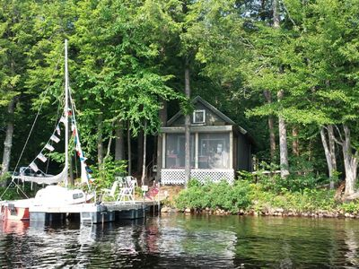 Photo for Cozy Waterfront Cabin on Cranberry Lake