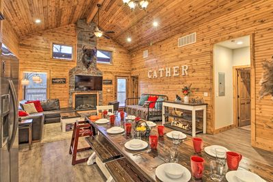 Experience the wonders Branson West at this vacation rental cabin.