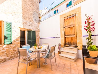 Photo for ☼ Great house with patio in the old town of Alcudia