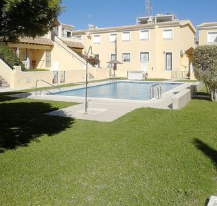 Photo for 2 bedroom apartment overlooking pool in Villamartin close to Golf Courses
