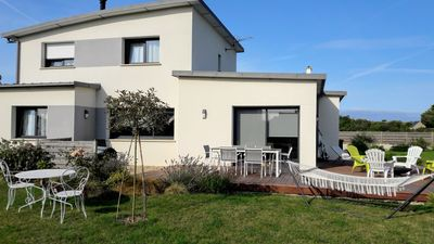 Photo for Near the beaches, contemporary, spacious and bright house.