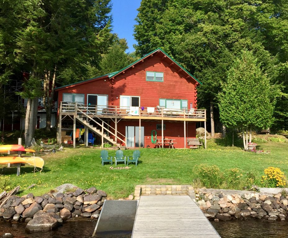 Charming Lodge And Cabin On Beautiful Cranberry Lake Sleeps 20