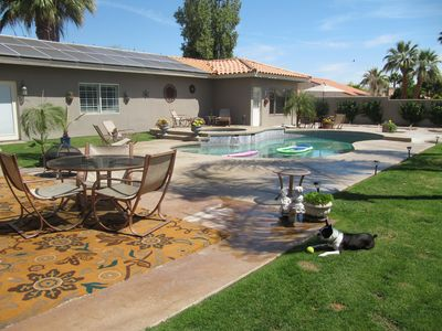 Photo for Palm Springs / Palm Desert Poolside Guesthouse
