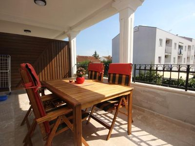 Photo for Two bedroom apartment with terrace Rovinj