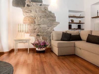 Photo for Spacious Giuliana Home apartment in Como with WiFi & private parking.