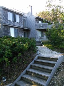 Photo for Available Now! Desired Private Setting, Bay Views, Walk to Beach, Cobb Farm