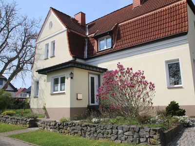 Photo for Comfortable apartment in Nordhausen in the Harz with pellet stove and use of the garden