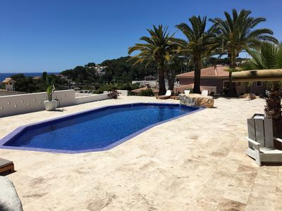Photo for Casa del Mar 1 Moraira 30 meters from the sea