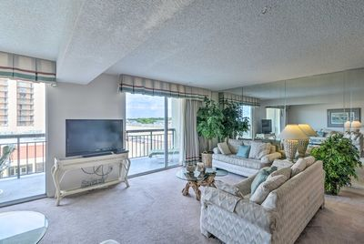 Located at Kingston Plantation, this home is ideal for families.