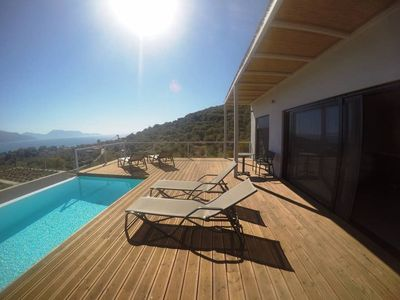 Photo for Villa Ioanna. 3 bed,private pool, stunning views