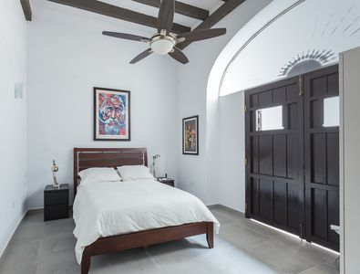 Charming bedroom with a queen bed