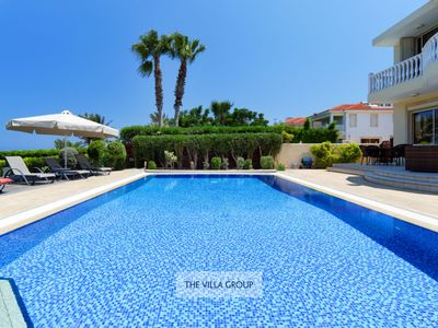 Photo for Impressive and spacious 5 bedroom villa in Kapparis