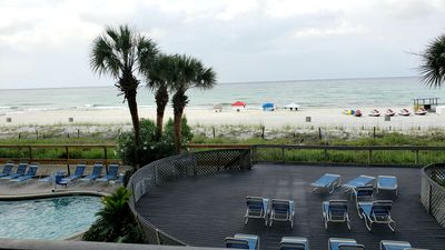 Photo for Oceanfront Gulf Views at Edgewater...1BD/1BA 1ST FLOOR