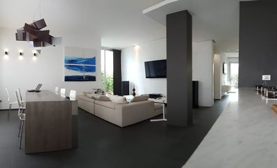 Photo for Modern apartment with garden