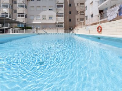 Photo for EPOCA - Apartment with shared pool in Playa de Daimuz.