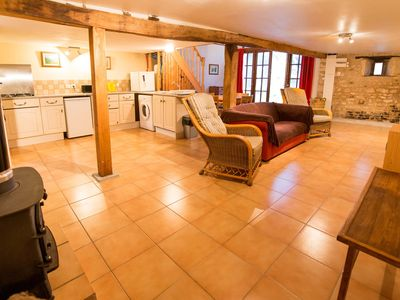 Photo for 2BR Barn Vacation Rental in Montjean, Nouvelle-Aquitaine
